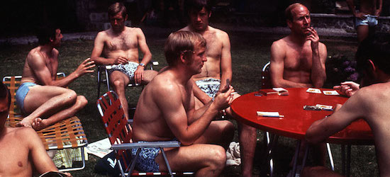 Pictured: the cream of England's footballers, 1970